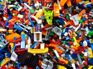 SXSW 2011 Lego Pile - 2 by EgnaroorangE, on Flickr